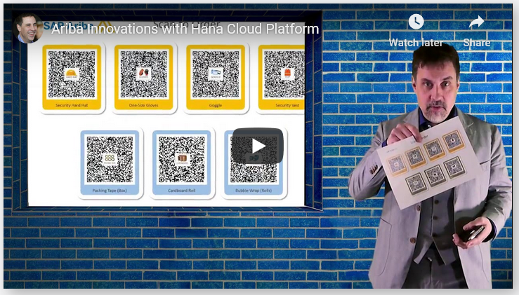 Ariba Innovations with Hana Cloud Platform